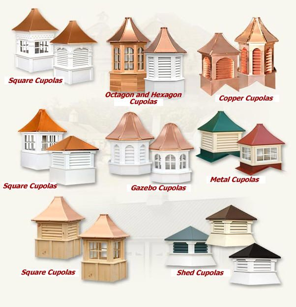 Cupolas For The Home Pinterest