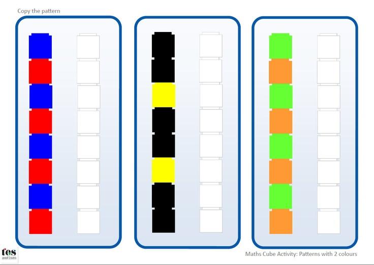 Unifix cubes template unifix cube patterns