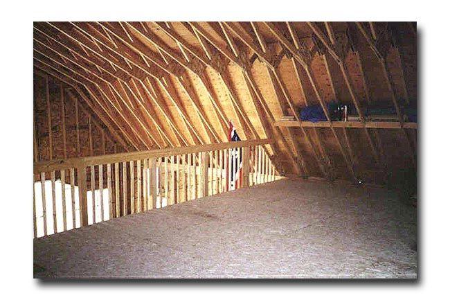 Barn Style Garage BARN GARAGE LOFT PLAN For The Home Pinterest