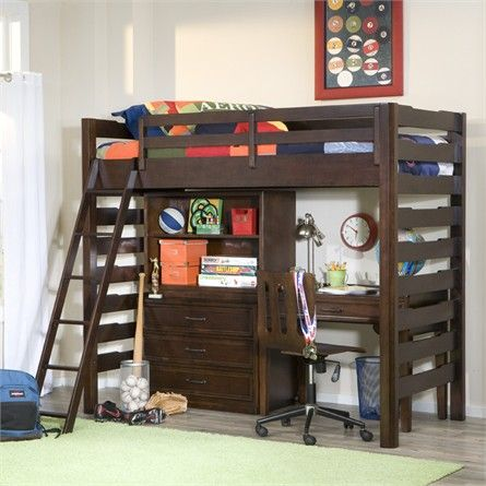 studio loft bed from rosenberry rooms kid stuff pinterest