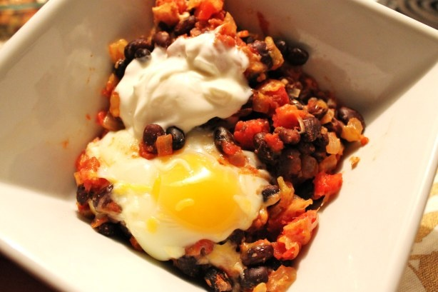 Mexican Baked Eggs & A Story of Caution « Domestic Superhero
