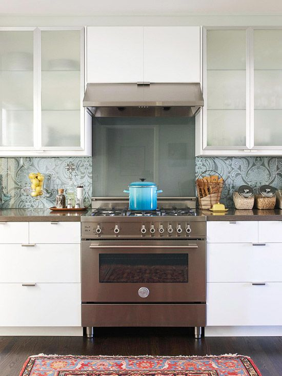 Stylish backsplash pairings Kitchen backsplash ideas bhg