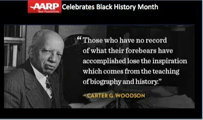 black history and valentines