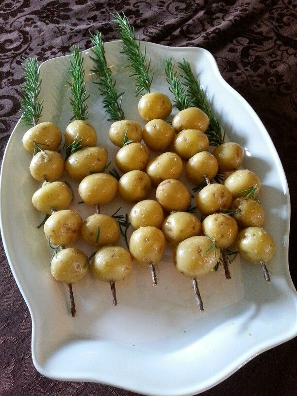 Rosemary grilled potatoes | Its all about the Food | Pinterest