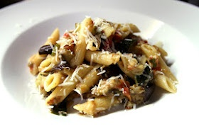 Roasted Balsamic Vegetable Pasta With Mint & Yogurt Recipe ...