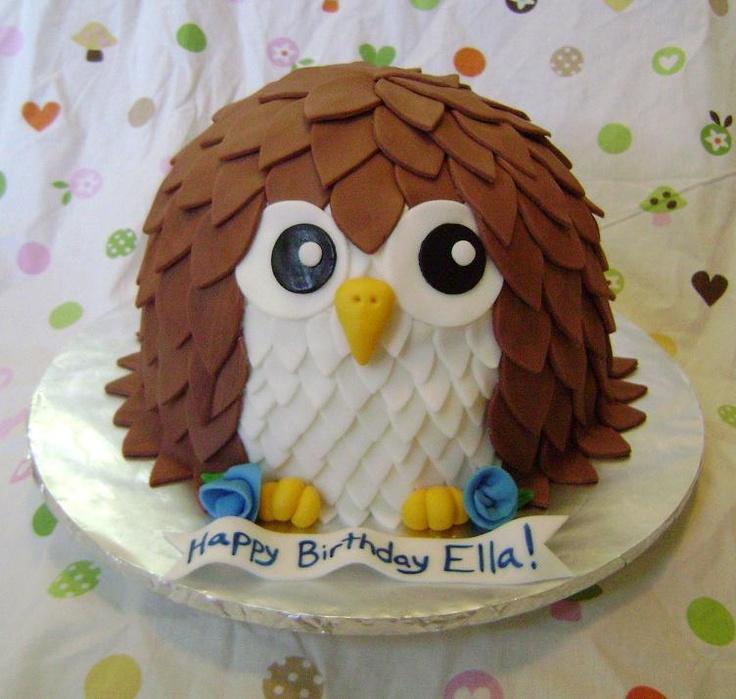 Owl Cake  Cake Decorating Ideas  Pinterest ~ 061510_Cake Decorating Ideas Owls