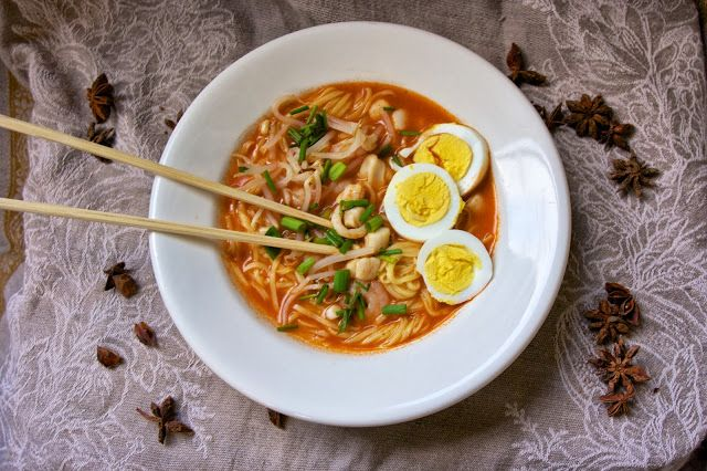 Malaysian Noodle Soup
