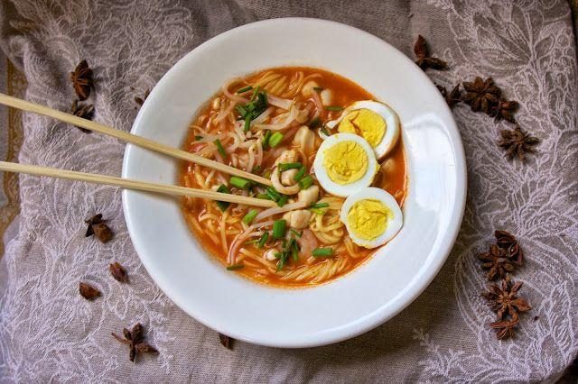 Malaysian Noodle Soup