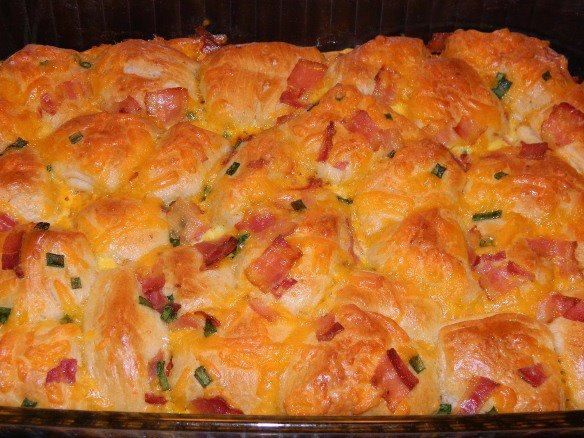 Bacon and cheese Pull Aparts   Food   Pinterest