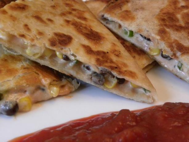 Corn and Black Bean Quesadillas | Recipe