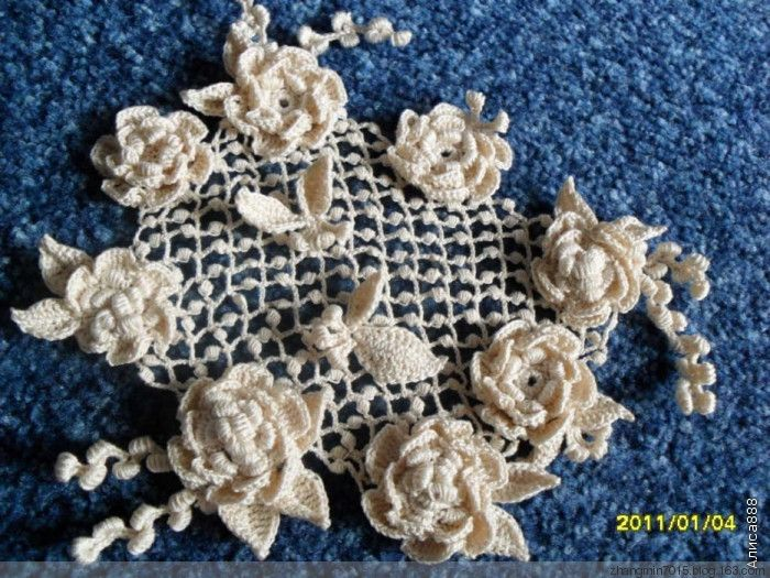 Irish crochet Crochet Pinterest