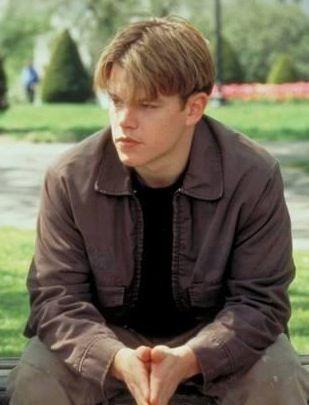 Matt Damon in Good Will Hunting   Movies of 90's   Pinterest