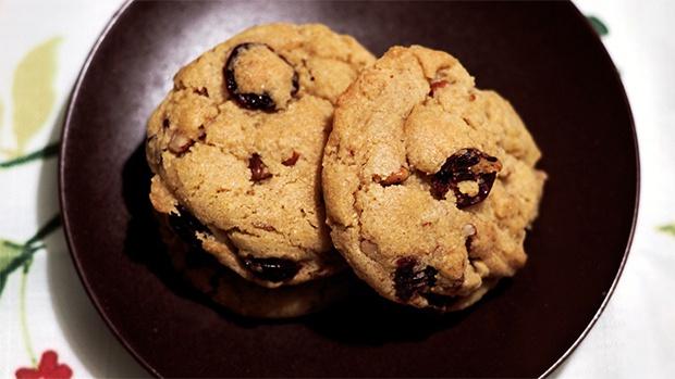 cherry cornmeal pecan cookies | Cherry Bomb | Pinterest