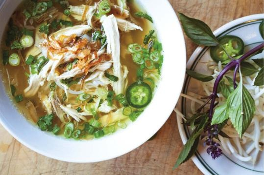 Recipe for Pho Ga (Vietnamese chicken noodle soup) - Lifestyle ...