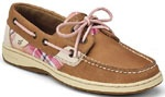 Plaid Bluefish 2-Eye Slip-On Casual Sperry Top-Sider Womens Boat Shoes