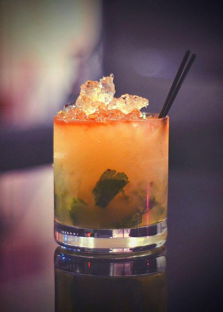 Peach and mint julep | summer! | Pinterest