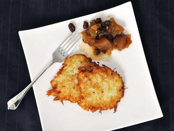 Latkes with Apple Ginger Chutney | Recipe