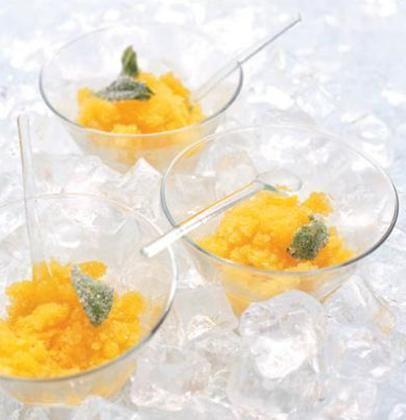 Mango granita | Dessert | Pinterest