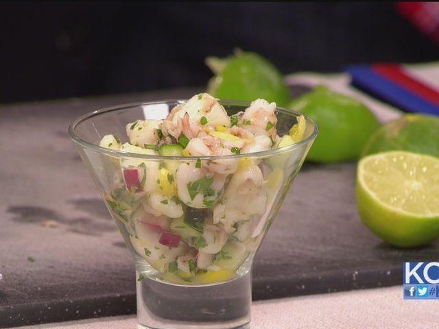 scallop ceviche how to peruvian shrimp and scallop ceviche seared ...