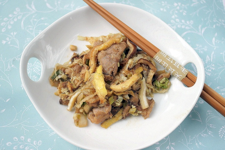 Moo Shu Pork | Asian Recipes | Pinterest
