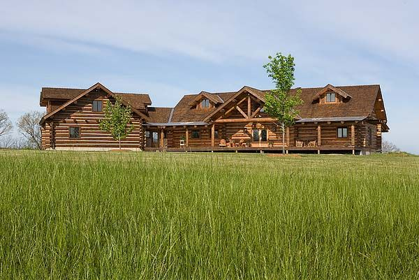 Montana Log Homes Different Pinterest