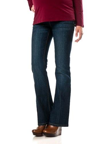 Motherhood Maternity: Secret Fit Belly(tm) Super Stretch Boot Cut Maternity Jeans $39.98