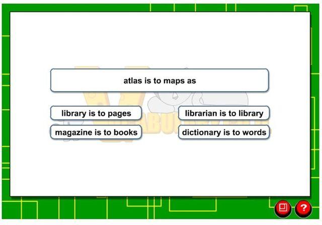 Online Analogy Practice