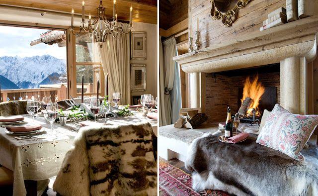 Casa en los alpes suizos decoracion pinterest - Adornos de casa ...
