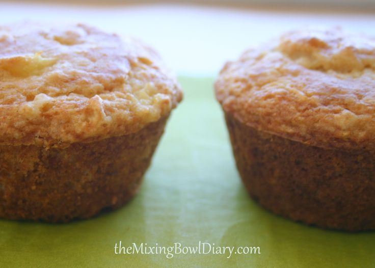 Pineapple Coconut Muffins (GF) | gluten free | Pinterest