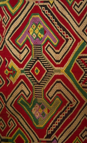 Antique Dayak Weaving, Borneo. The Wovensouls Collection