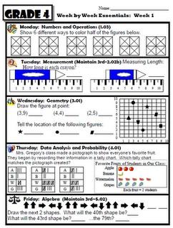 Fantastic Daily Math  Bell-work
