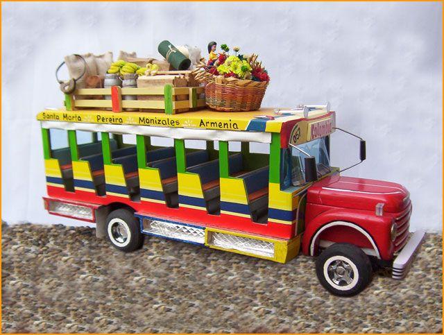 buzzfeed valentine's day gifts - Chiva Colombiana Balcones Miniatura