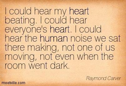 raymond carver.