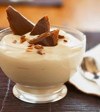 Butterscotch Pudding   Dessert   Pinterest
