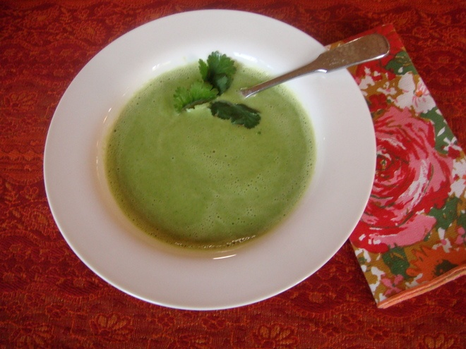 Creamy Broccoli Soup with Fresh Almond Milk Here's one of my ...