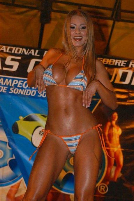 Esperanza Gomez in a bikini contest   My Favorite ...