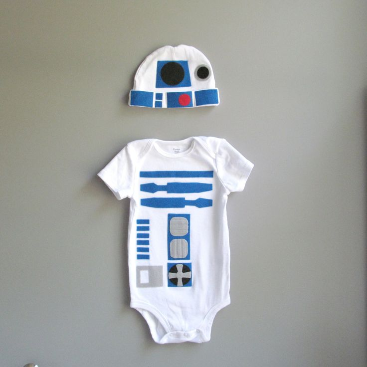 R2D2 Baby Clothes How cute!
