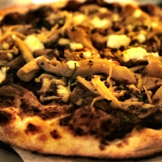 Porcini mushroom pizza | Food | Pinterest