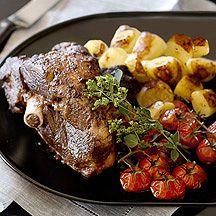 Slow-roasted Greek lamb | VASA-Foods | Pinterest