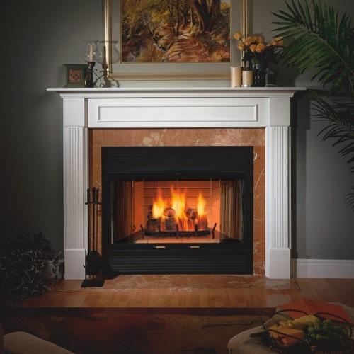 majestic sc42 42 quot sovereign heat circulating wood burning