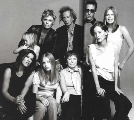keith richards & family | Keef | Pinterest Keith Richards Family