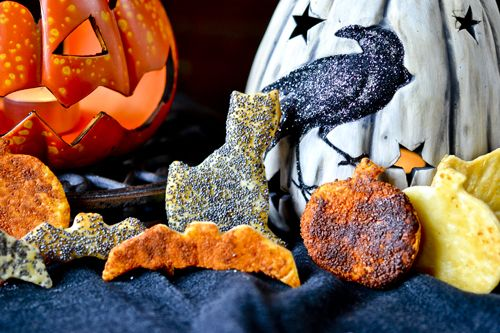 Scaredy Crackers - our last contribution to the Halloween festivities ...