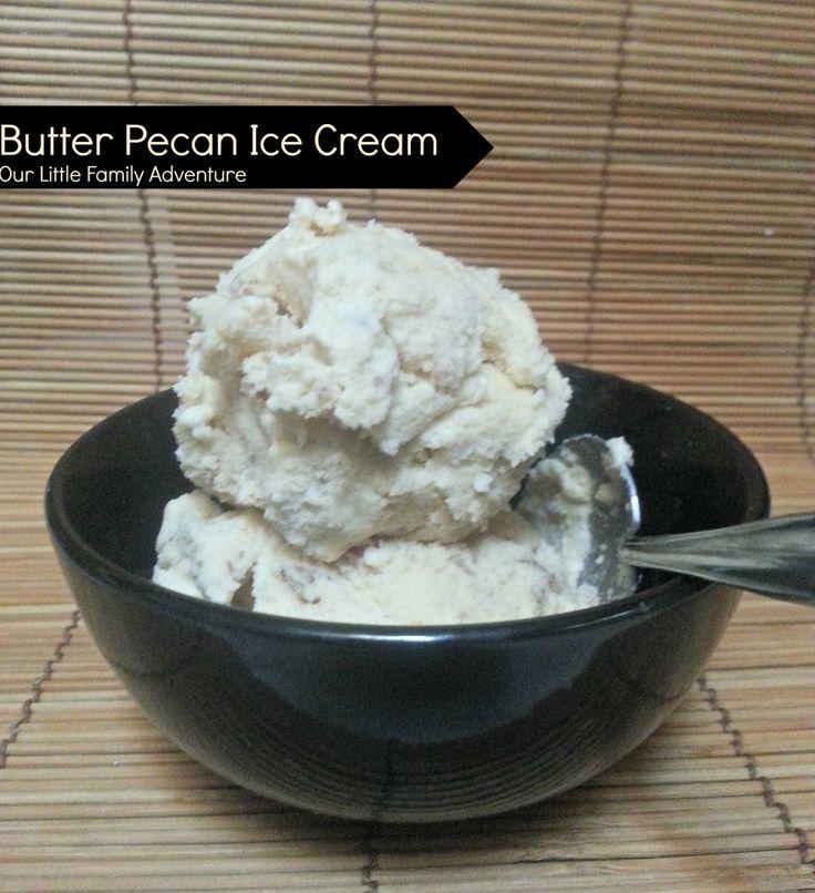 ... butter pecan ice butter pecan ice cream pie homemade ice cream peanut