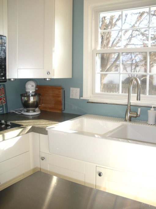 The Ikea Farmhouse sink in action Lullwood Kitchen remodel Pinter ...