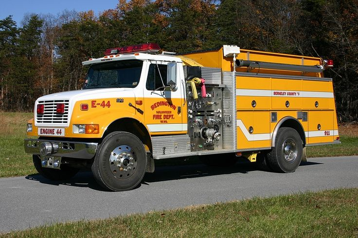 Bedington Volunteer Fire Department (WV) Engine/Tanker 44.