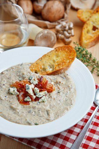 Creamy Mushroom and Roasted Cauliflower Soup | Recipe