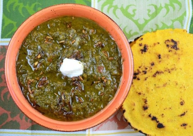 Straight from the green fields of Punjab comes this delectable recipe ...