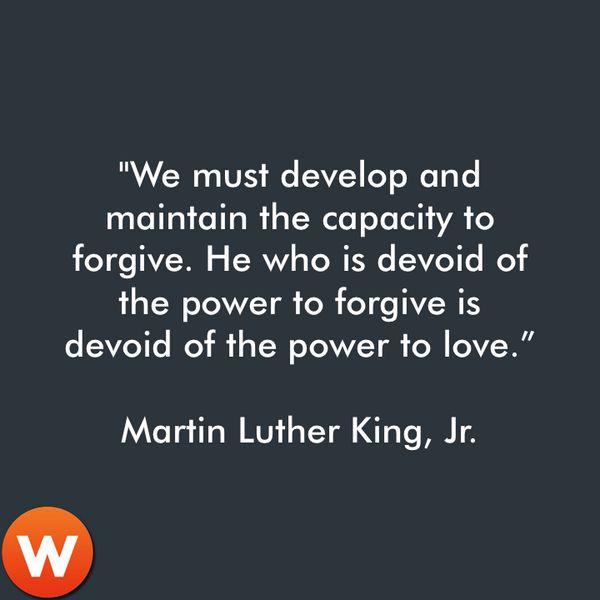 MLK on forgiveness Inspirational Quotes Pinterest