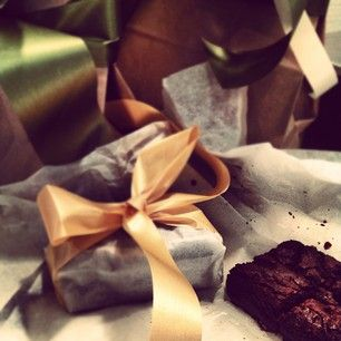 Best-Ever Brownies, all wrapped up | Gift ideas | Pinterest