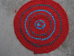 Virkad matta – Crochet rug | Craft & Creativity